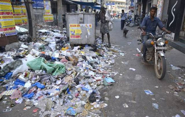 Image result for latest images of Throwing food items on roadsides is punishable, orders BBMP